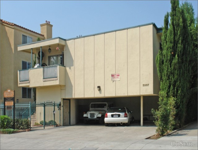 Front Side View at Los Angeles