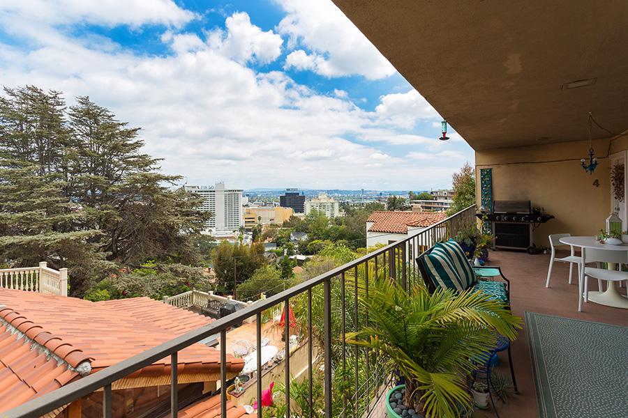 Balcony View Los Angeles