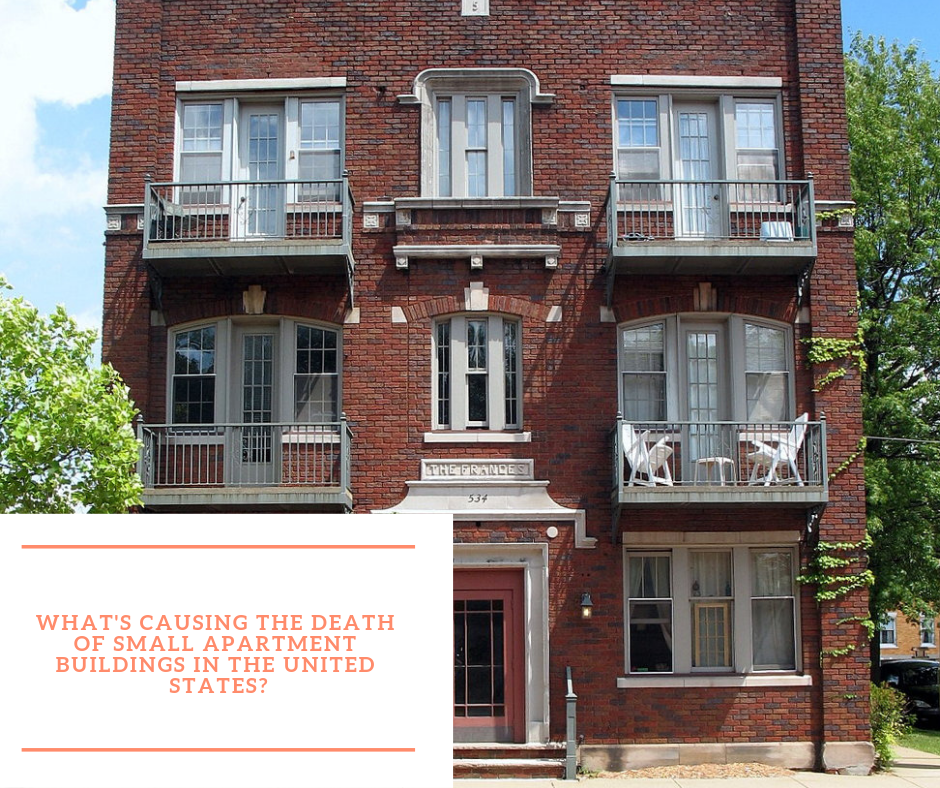 Apartement: Death Of Small Apartment Buildings In USA