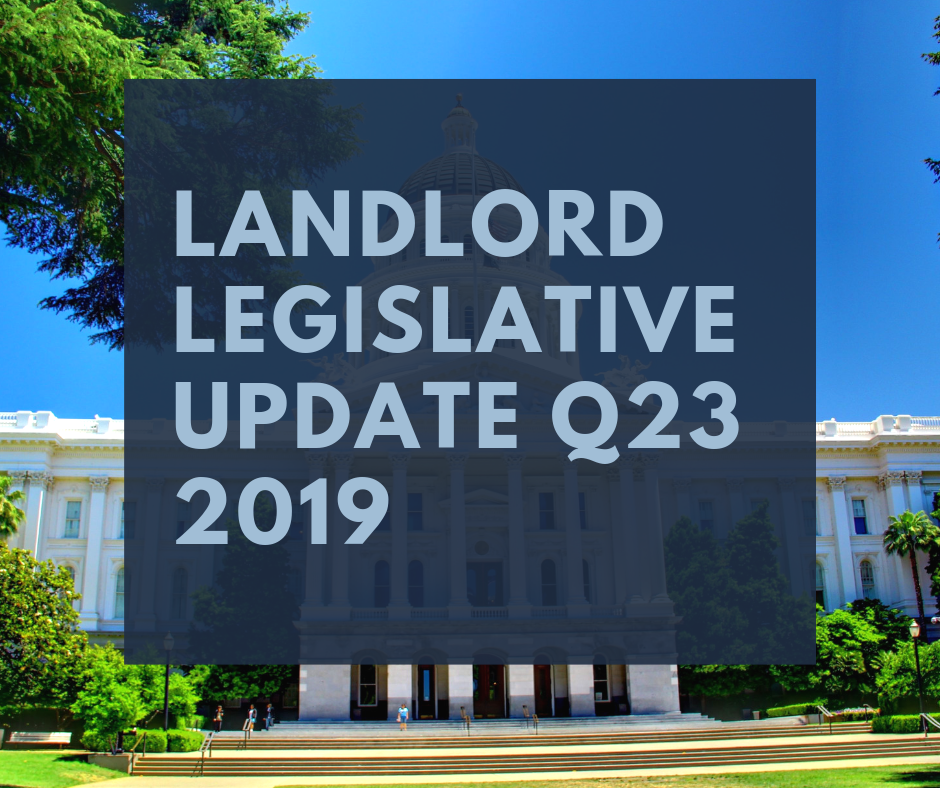 Landlord Legislative Update